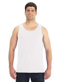 Fruit of the Loom Adult Heavy Preshrunk Tank Top, White, Med