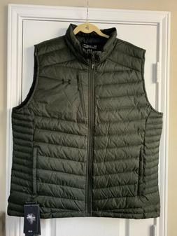 Under Armour Iso Down Vests Forest Green Pertex 700 Fill Pow
