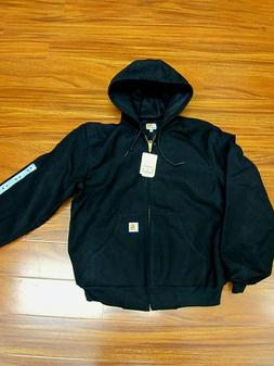 Carhartt J131 Thermal Lined Duck Active Jacket Black Made in