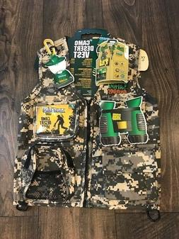 Backyard Safari Jungle Camo Cargo Vest