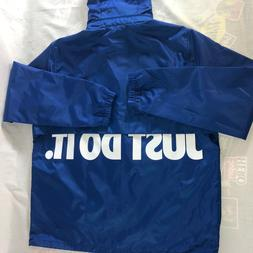 Nike Just Do It Full Zip Hooded Jacket Size Large Convertibl