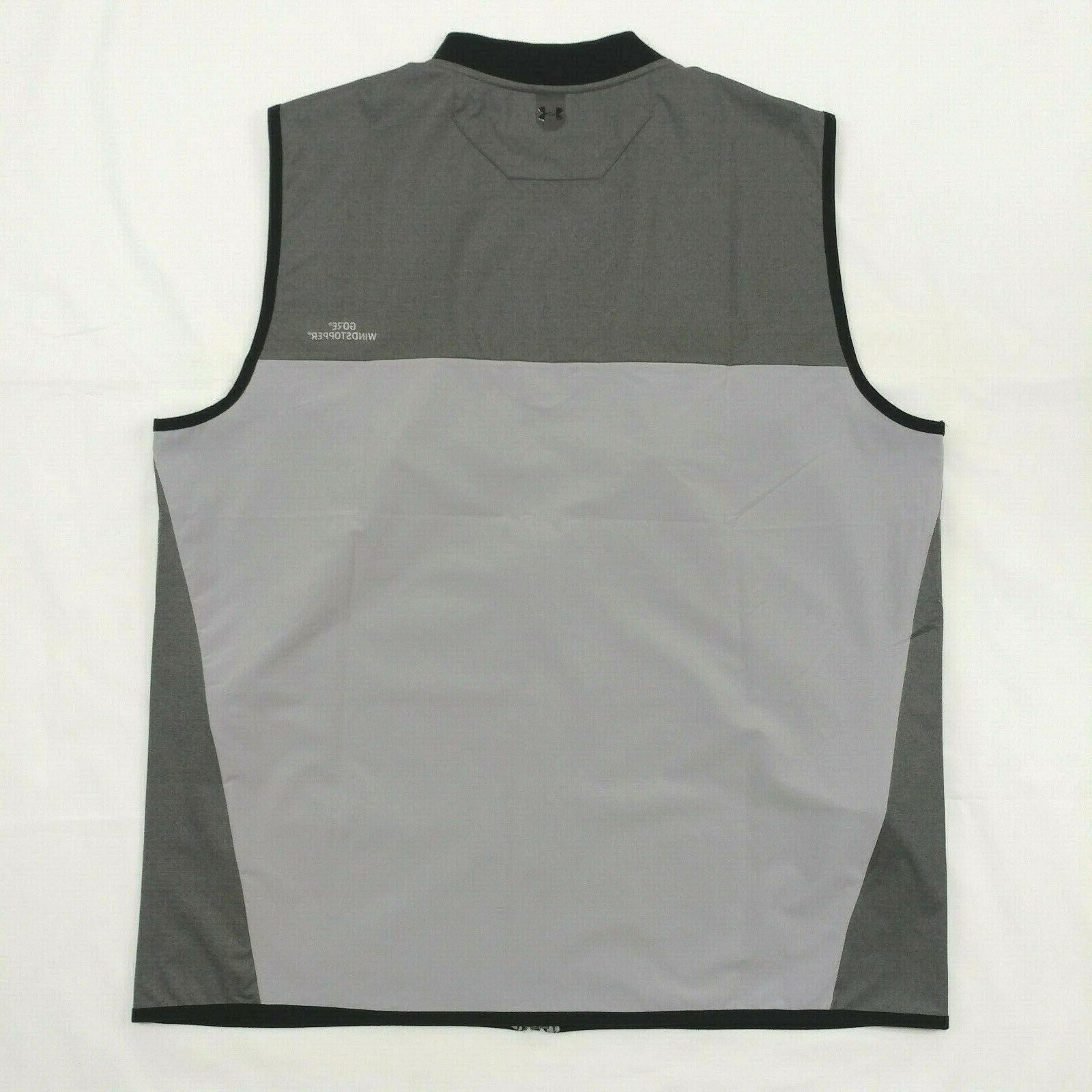 $120 Vest Full XL WindStopper Gray Sleeveless