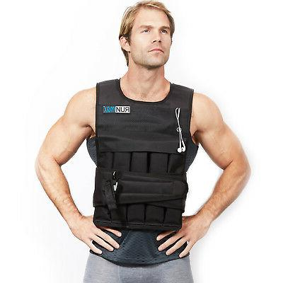12lbs 140lbs adjustable weighted workout weight vest