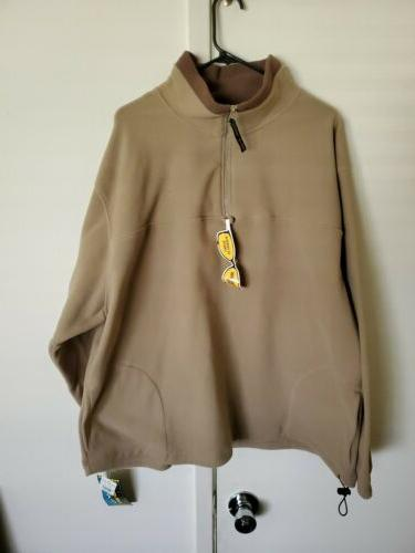 2 Roundy Ridge Clothing Mens Polyester Fleece Pullover