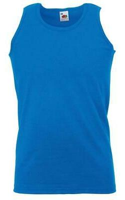 3 Pack the Loom Athletic Vest Sz S-