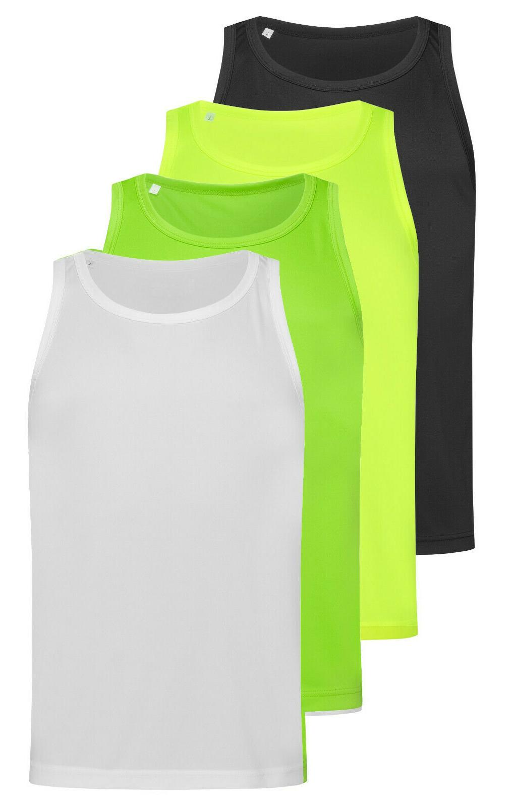active dry breathable polyester sports tank top