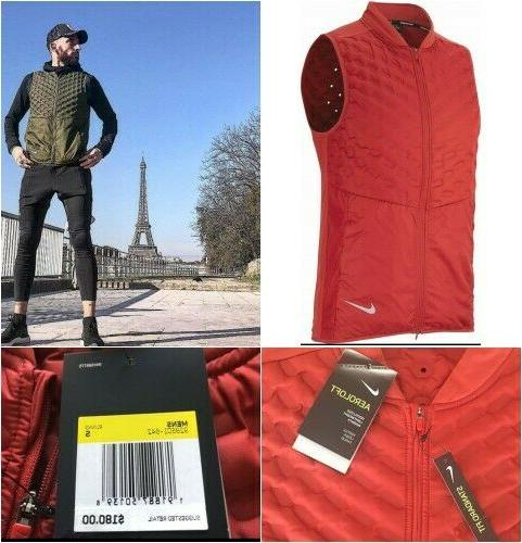 Nike Reflective Packable Red NWT $180