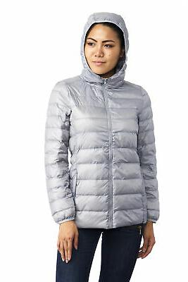 AlpineSwiss Hooded Alternative Light Bubble