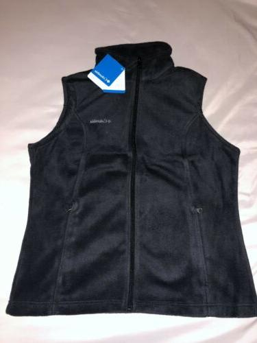 Columbia Benton Vest Women Size L Brand New With Black