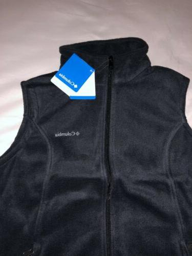 Columbia Vest Women Size Brand Black