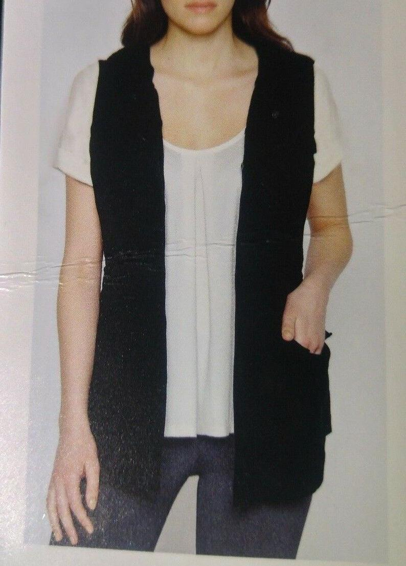 Brand New M Womens Hooded Utility Vest Color