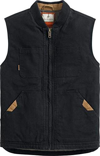 Legendary Men's Canvas Cross Trail Vest X-Large