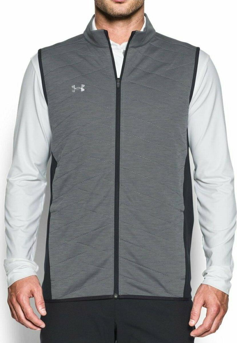 coldgear reactor vest small golf grey black