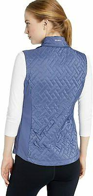 Cutter Buck Weathertec Hybrid Quilted 2-in-1 Mock