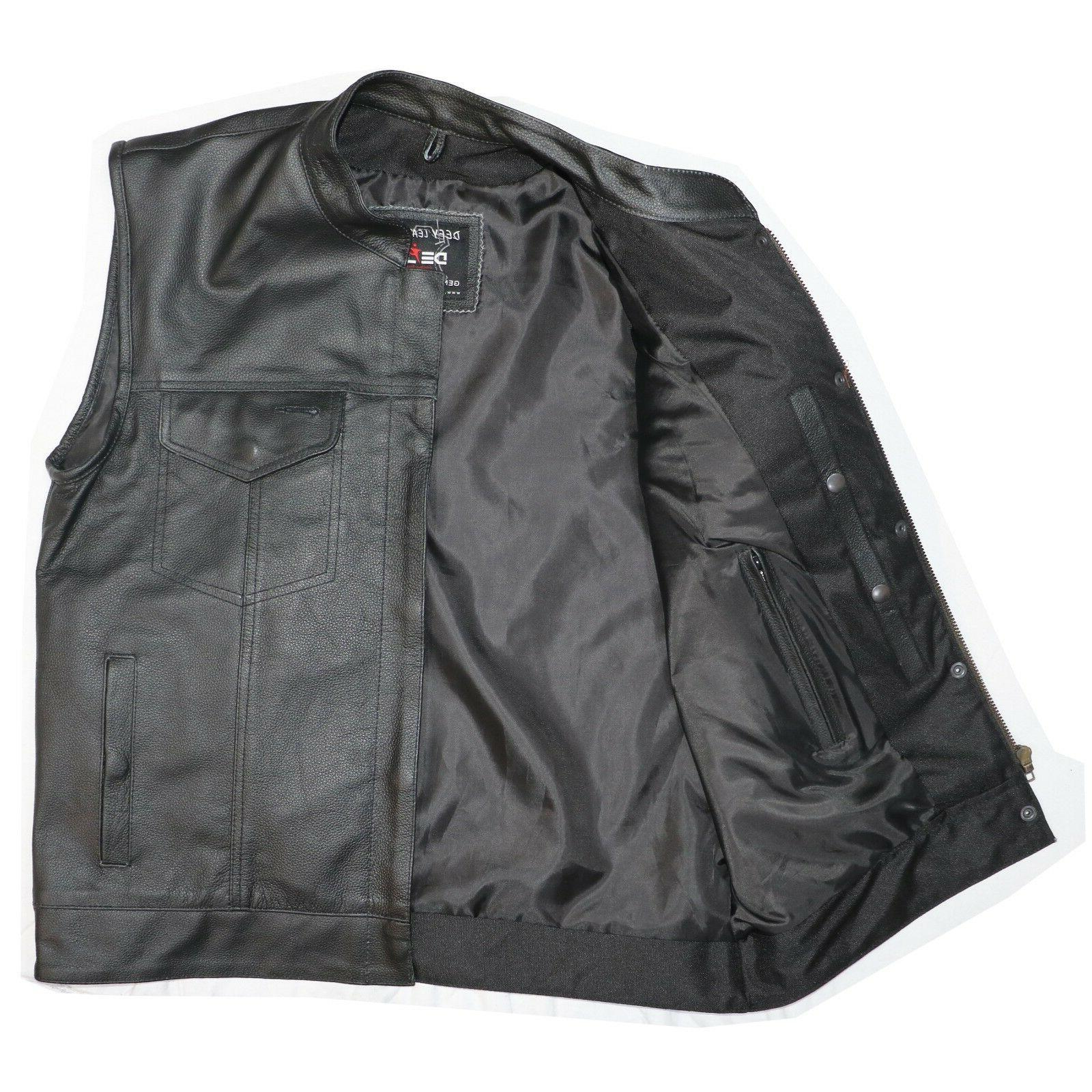 DEFY™ Club Leather Vest Carry