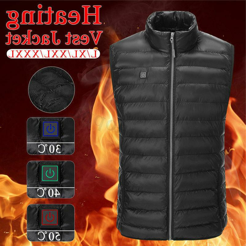 electric vest heated cloth jacket usb thermal