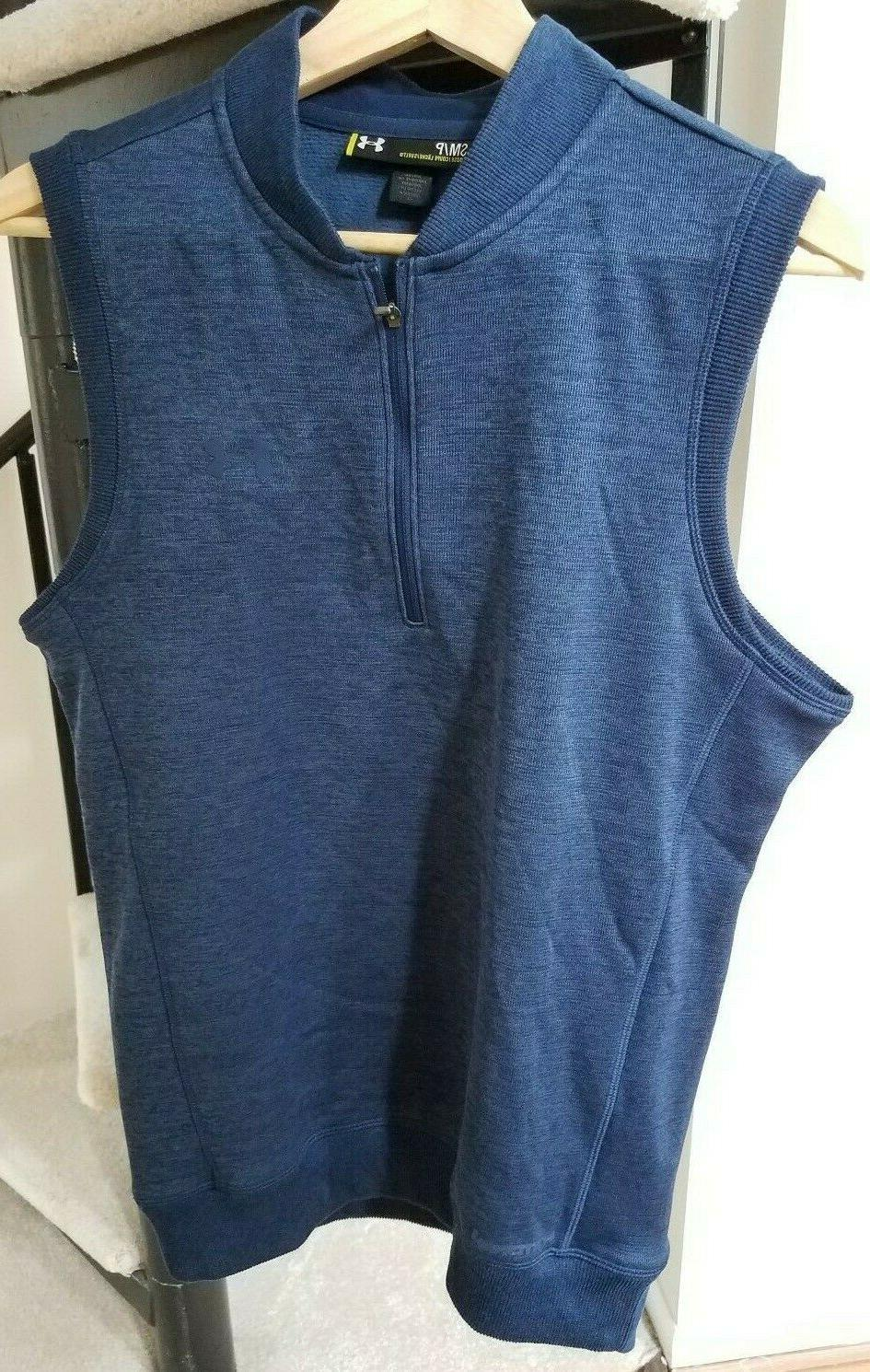 Under Armour GOLF Vest STORM Gear Mens Water Small NWT