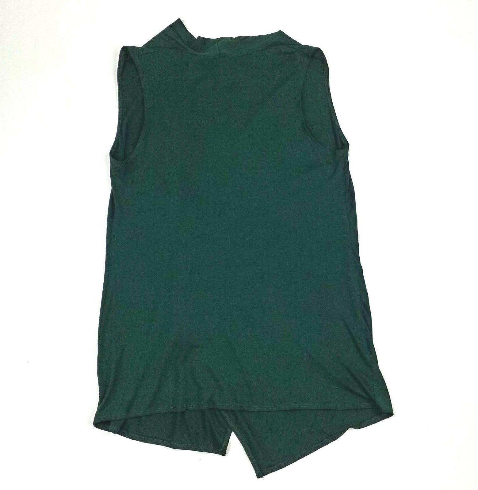 Azules Green Stretch Vest Size