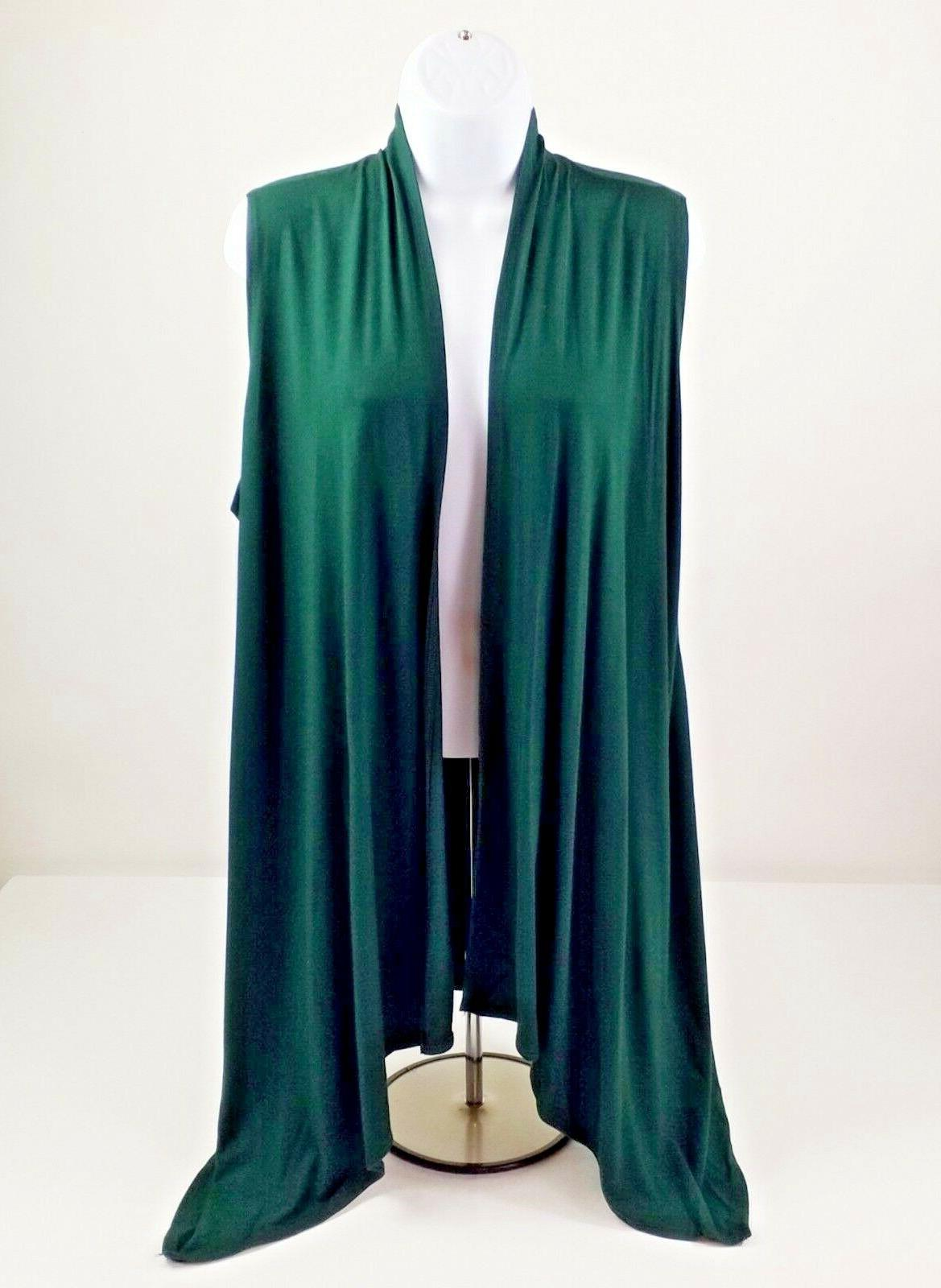 green fly away stretch sleeveless vest womens