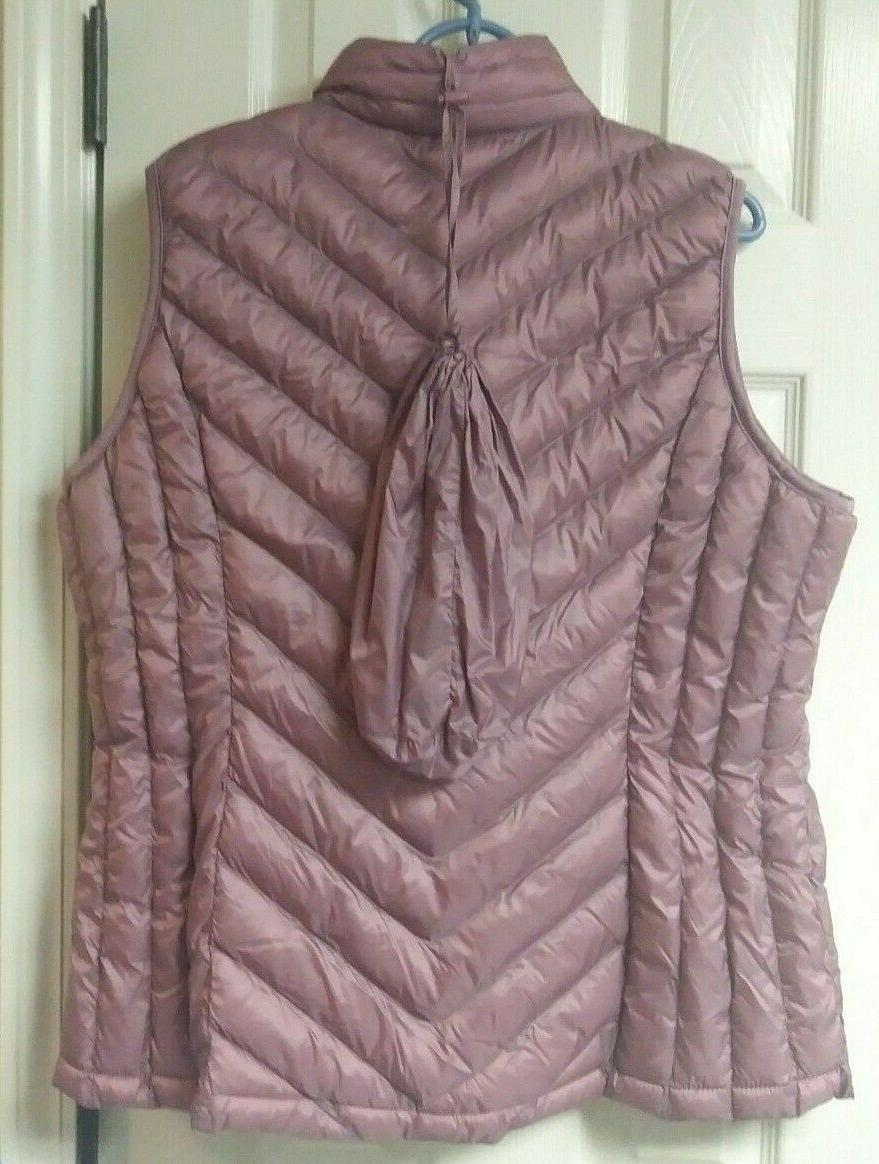 32 Quilted Puffer Packable New with