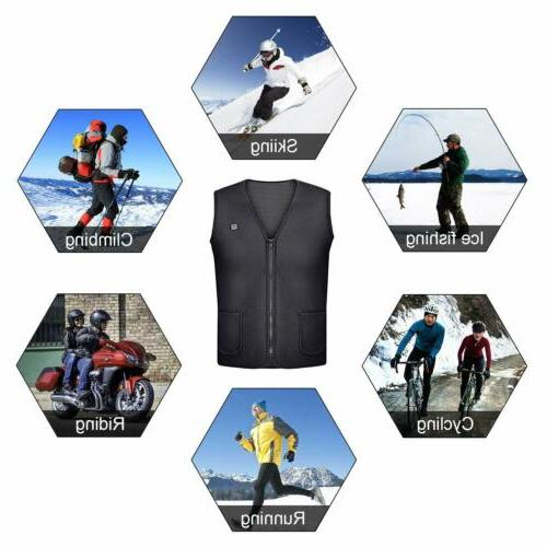 Heated Vest USB Electric for Women US