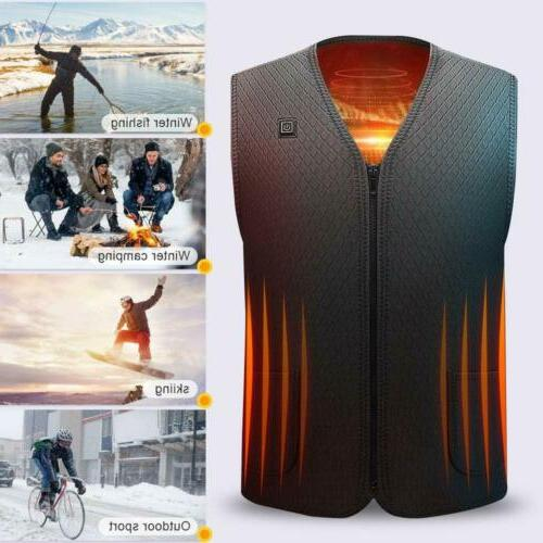Heated Electric Jacket for Women US