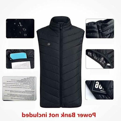 Heated Vest Warm Body Electric Women Heating Clothing