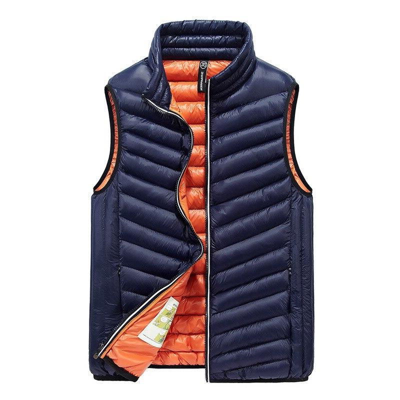 Hot down <font><b>vest</b></font> men Light high <font><b>Vest</b></font> Sleeveless jacket New Winter