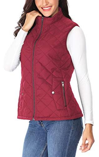 MISS MOLY Women Quilted Vest Gilet