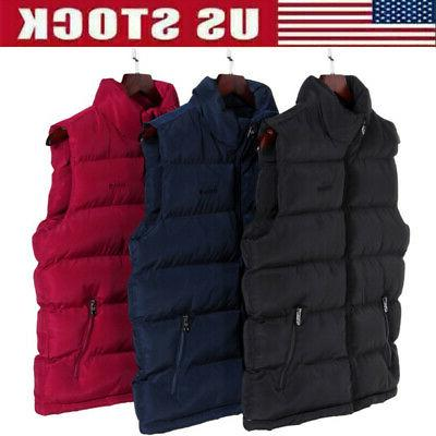 men down quilted vest body warmer sleeveless