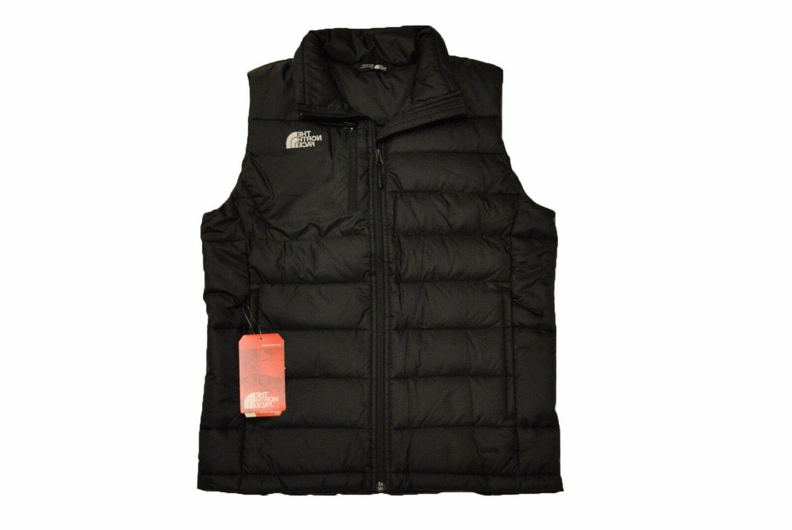men s aconcagua vest in tnf black