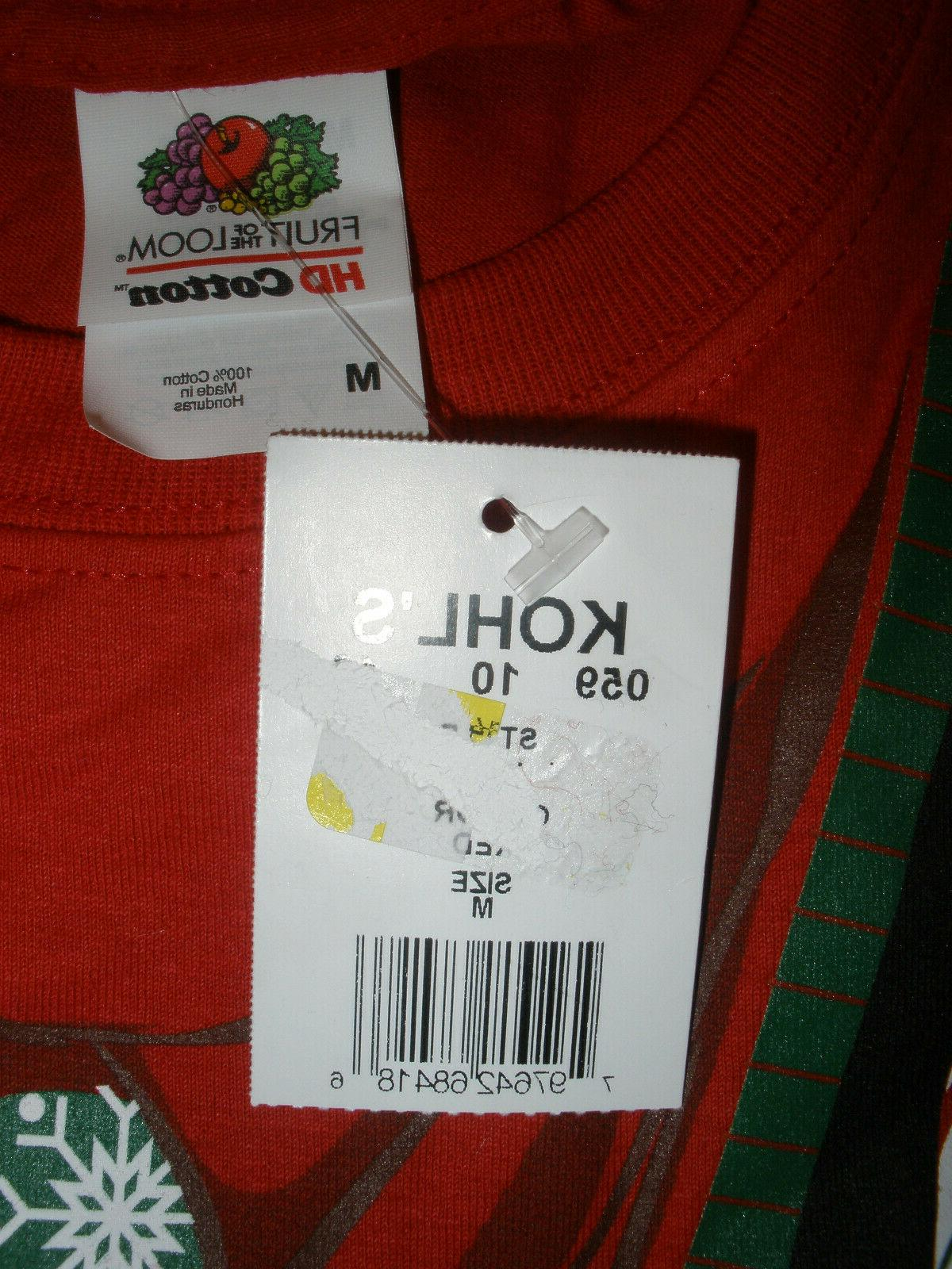Loom Size M Red Vest 100% Cotton NWT