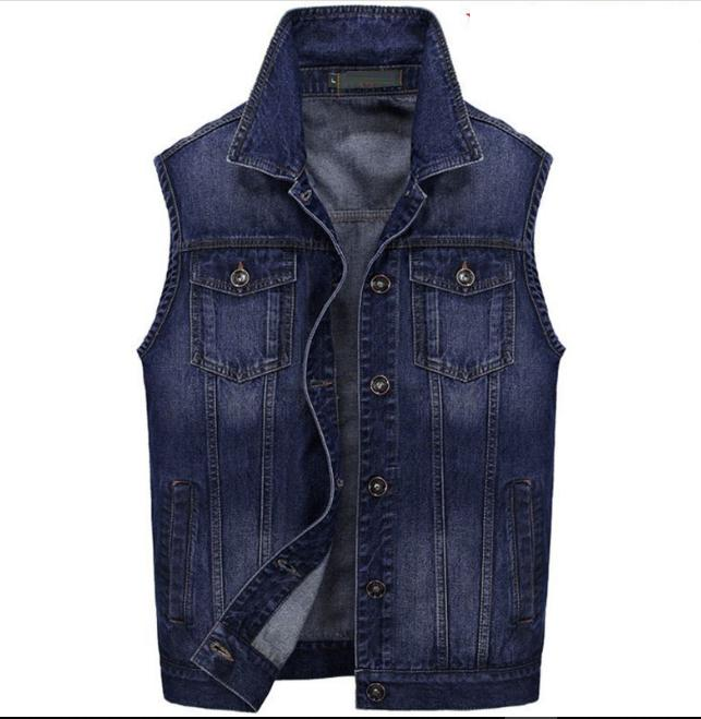 men s multi pocket denim jacket jeans