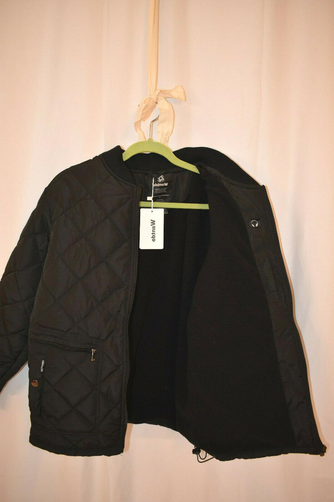 Wantdo Men's Quilted Jacket, Size Outdoor Diamond Puffer