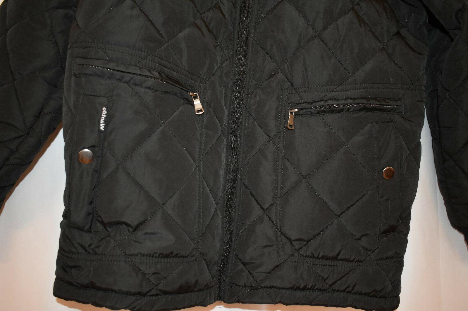 Wantdo Men's Quilted Jacket, Size M, Outdoor