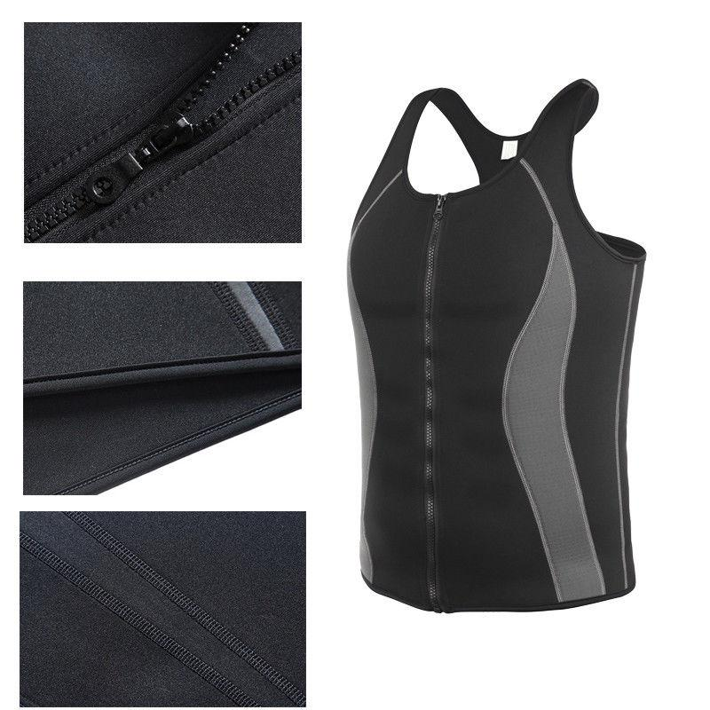 Men's Vest Body Shaper Tank Neoprene