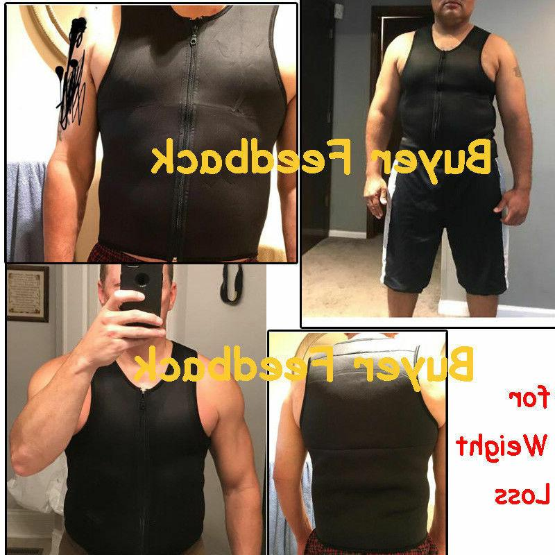 Men's Shaper Slimming Sauna Tank