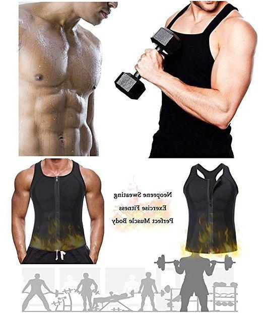 Men's Sweat Shaper Slimming Sauna Tank