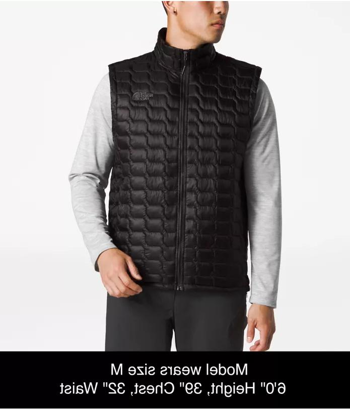 The Face ThermoBall Vest Black