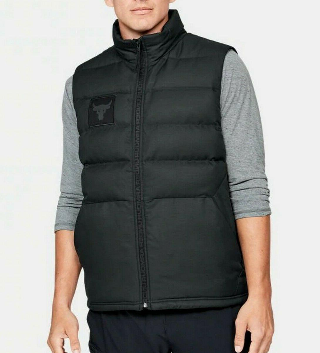 Under Armour Men's UA Project Rock Down Filled Vest 700 Fill