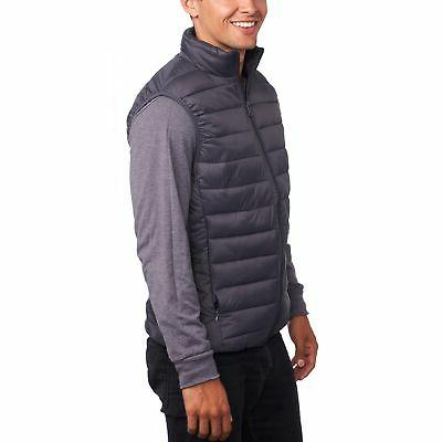 Alpine Mens Down Alternative Vest Jacket Lightweight Packable Puffer Vest