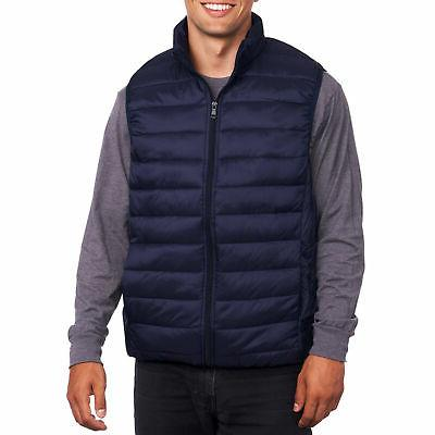Alpine Swiss Mens Down Alternative Vest Packable Puffer Vest