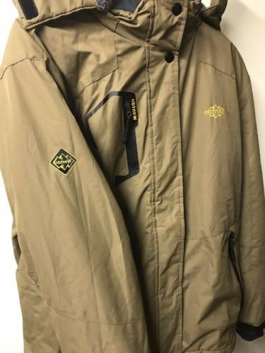 Wantdo Hooded Winter Jacket Coffee Brown Size Medium