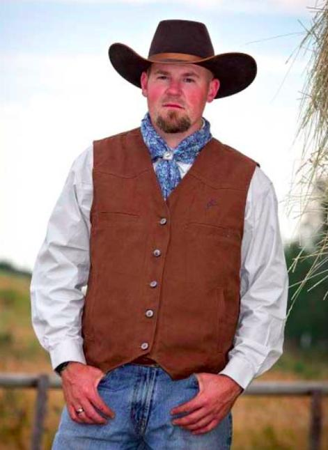 Wyoming Mens Concealed Carry Canvas Vest