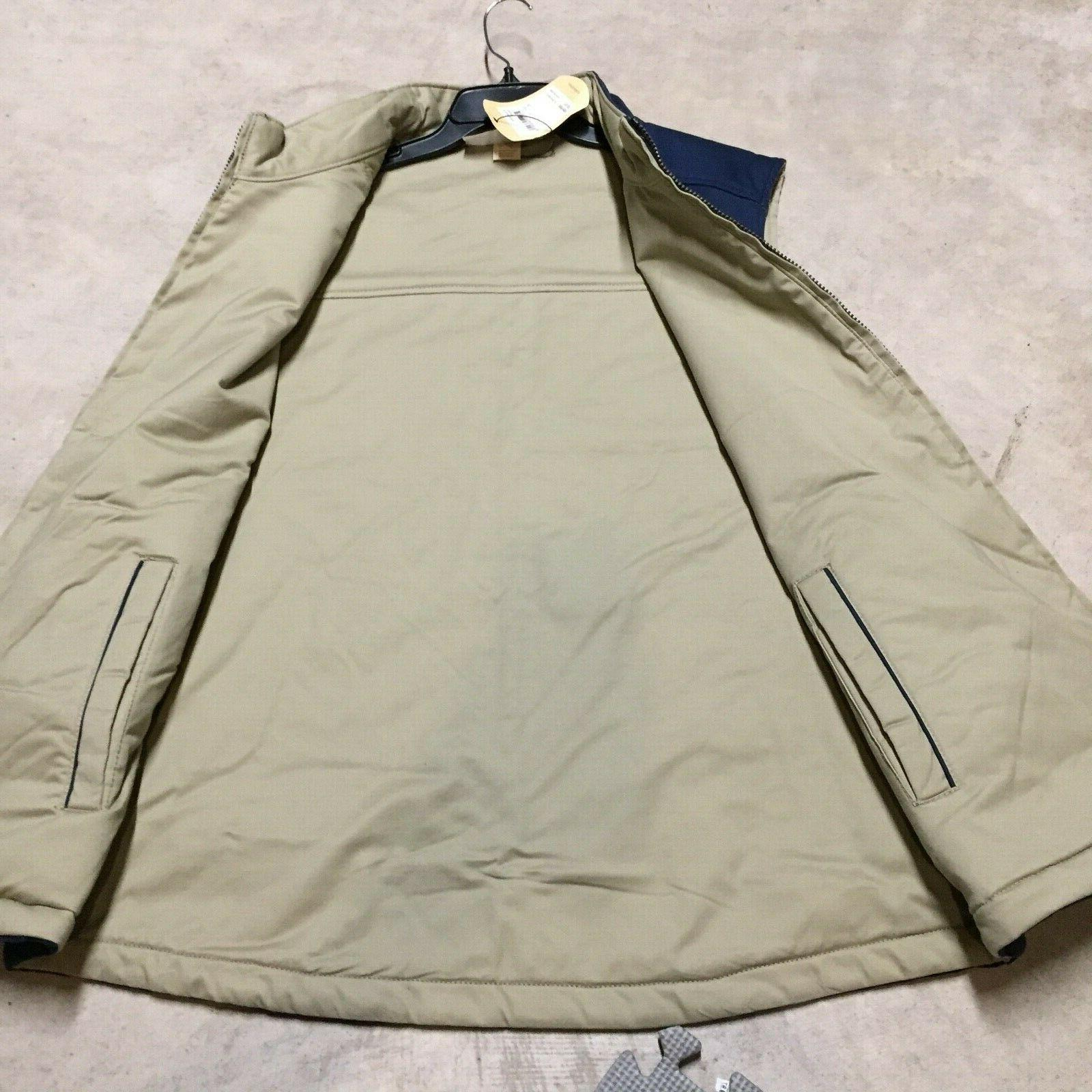 mens tommy bahama top sail reversible quilted jacket