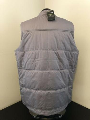 New Golf Vest Synthetic Fill Grey