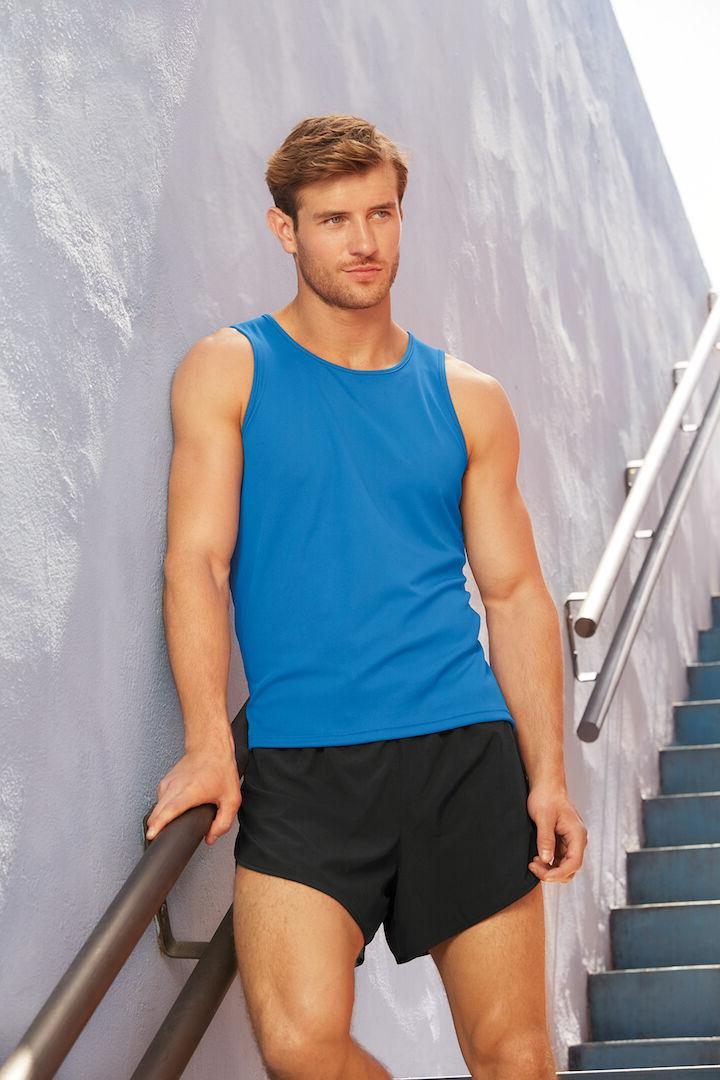 New Mens of the Loom Performance Vest Sports Tank