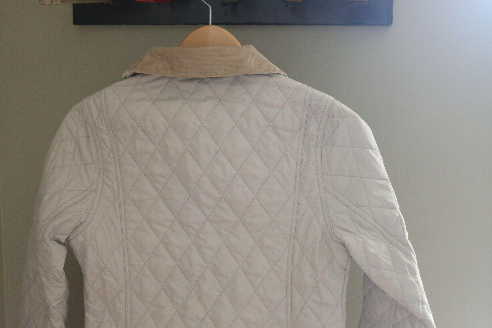 New Barbour Spring Quilted Size US 6 Tan $229