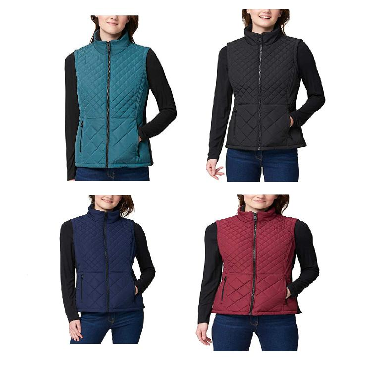 new women s quilted insulated vest variety