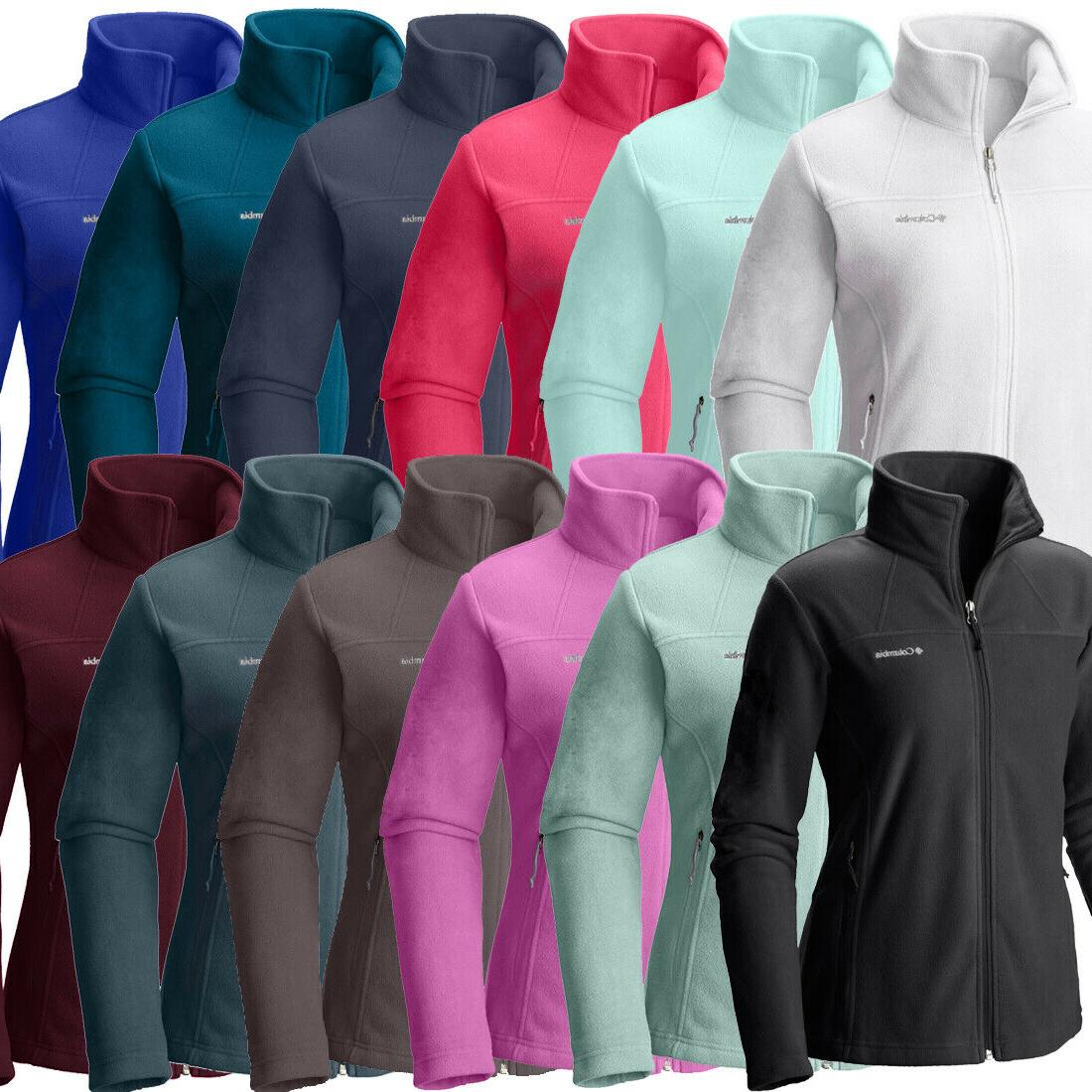 new womens fleece falls ii full zip